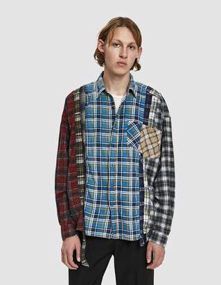 Needles Wide 7 Cuts Flannel Shirt
