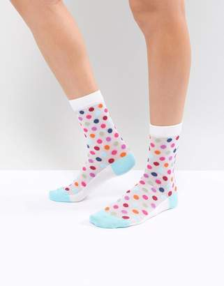 Paul Smith PS PS by Spot Mesh Sock