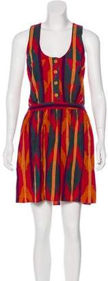 Steven Alan Patterned Knee-Length Dress