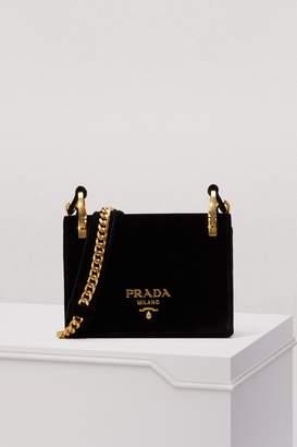 Prada Pattina Velvet Bag