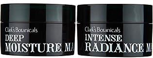 Clark's Botanicals Clarks Botanicals Radiance & Deep MoistureMask Duo