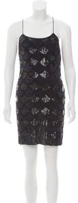 Aidan Mattox Sequin Mini Dress w/ Tags