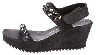 Pedro Garcia Embellished Fede Sandals