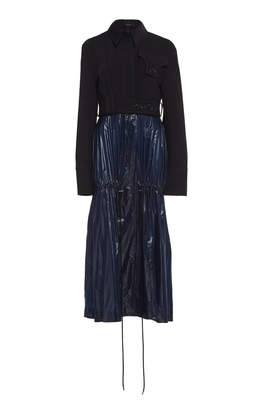 Ellery Aloof Wool-Blend Tiered Coat