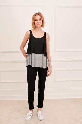 Great Plains Lucille Jersey Layered Vest