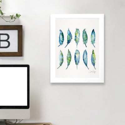 Wayfair 'Feathers' Print