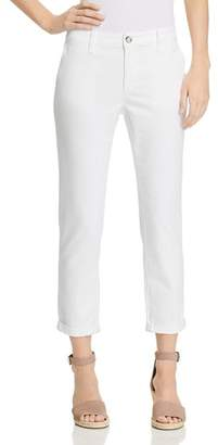 AG Jeans Caden Straight Jeans in White