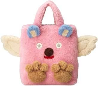 Gucci Children's faux fur bear tote