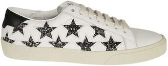 Saint Laurent Sequined Star Trainers Sneakers