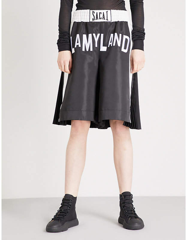Lamyland shell boxing shorts
