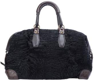 Louis Vuitton Black Ostrich Handbags