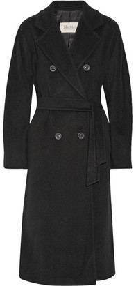 Max Mara - Madame 101801 Wool And Cashmere-blend Coat - Black $3,490 thestylecure.com