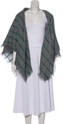 Gianni Versace Printed Woven Shawl