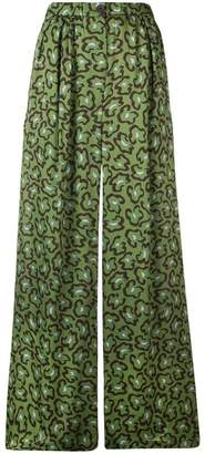 Christian Wijnants Bamboo wide trousers