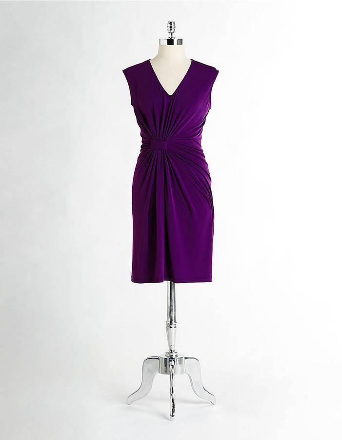Kenneth Cole NEW YORK Sleeveless V-Neck Dress