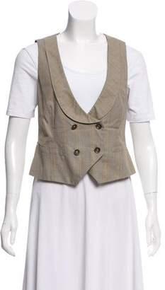 Rag & Bone Double-Breasted Wool Vest