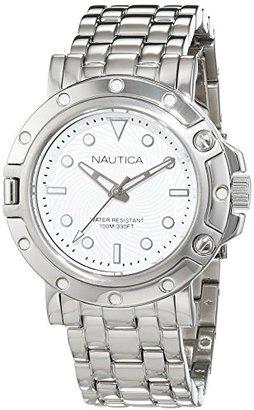 Nautica (ノーティカ) - ノーティカWomen 's ' NST 800 ' QuartzステンレススチールCasual Watch , Color : silver-toned (モデル: nad15524l )