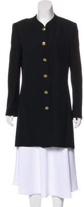 Sonia Rykiel Crew Neck Knee-Length Coat