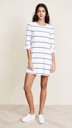Sundry Ruffle Sleeve Dress