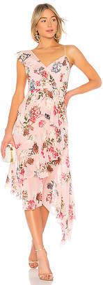 Nicholas Floral Frill Dress