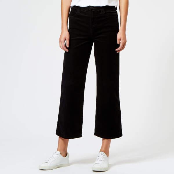 Women's Joan High Rise Crop Jeans Black