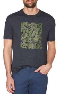 Original Penguin Camouflage-Print Tee