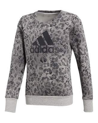 adidas Youth Girl Crew Sweatshirt
