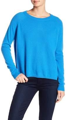 Minnie Rose Raglan Sleeve Cashmere Sweater