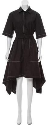 J.W.Anderson Short Sleeve Knee-Length Dress