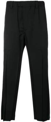 Issey Miyake slouched cropped trousers
