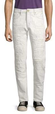Scotch & Soda Distressed Slim-Fit Jeans