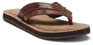 Crevo Coronada Leather Flip Flop