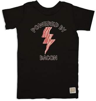 Original Retro Brand Boys' Powered By Bacon Tee - Big Kid