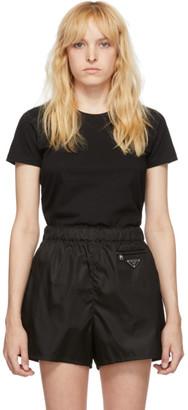 Moncler Black Crewneck T-Shirt
