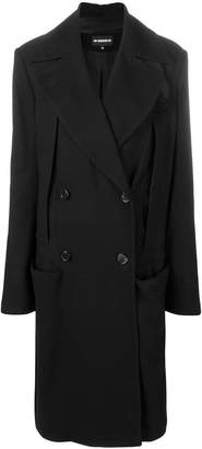 Ann Demeulemeester double-breasted long coat