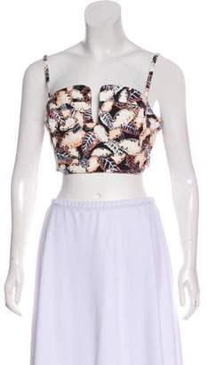 Opening Ceremony Printed Cropped Top w/ Tags