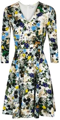 Erdem Domitilla Floral-print Crepe Jersey Dress
