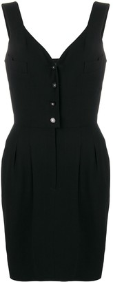 Chanel Pre-Owned 1996 belted short dress