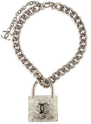 Chanel Padlock Pendant Necklace
