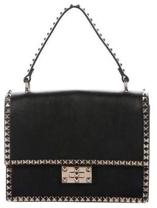 Valentino Rockstud No Limit Top Handle Bag Black Rockstud No Limit Top Handle Bag