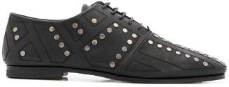 Bally studded oxfords
