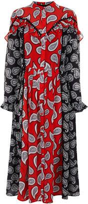 Dodo Bar Or Combo Paisley Mick Midi Dress