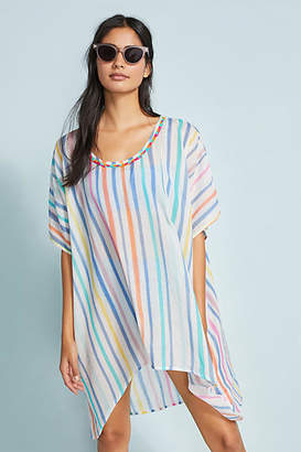 Naudic Striped Cover-Up Tunic