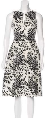 Giambattista Valli Patterned Silk Dress