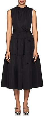 Co Women's Taffeta A-Line Midi-Dress