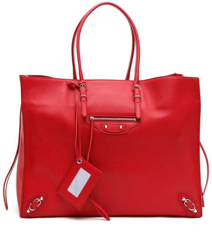 Balenciaga Balenciaga 'papier A4' Zip Around Shopper Bag