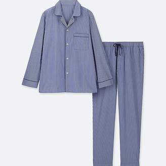 ab418a9cf4 at Uniqlo · Uniqlo Men s Long-sleeve Pajamas