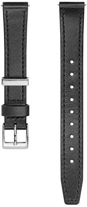 Rebecca Minkoff Silver Tone Leather Strap, 14Mm