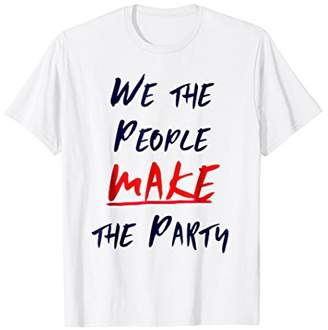 Custom Party 4th of July T-Shirt - We the People
