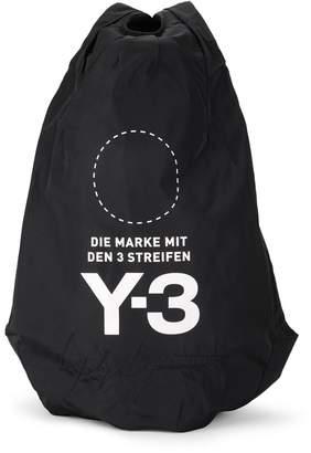 Y-3 Y 3 Yohji Backpack Black Nylon Backpack